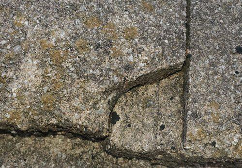 Composite roof hail damage in San Antonio Texas
