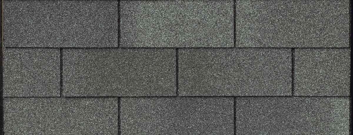 Gray 3 Tab Asphalt shingles on a roof in San Antonio