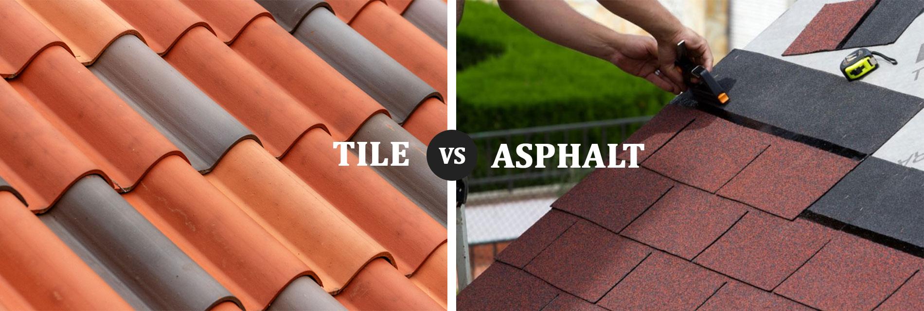 Tile vs Asphalt shingles in San Antonio