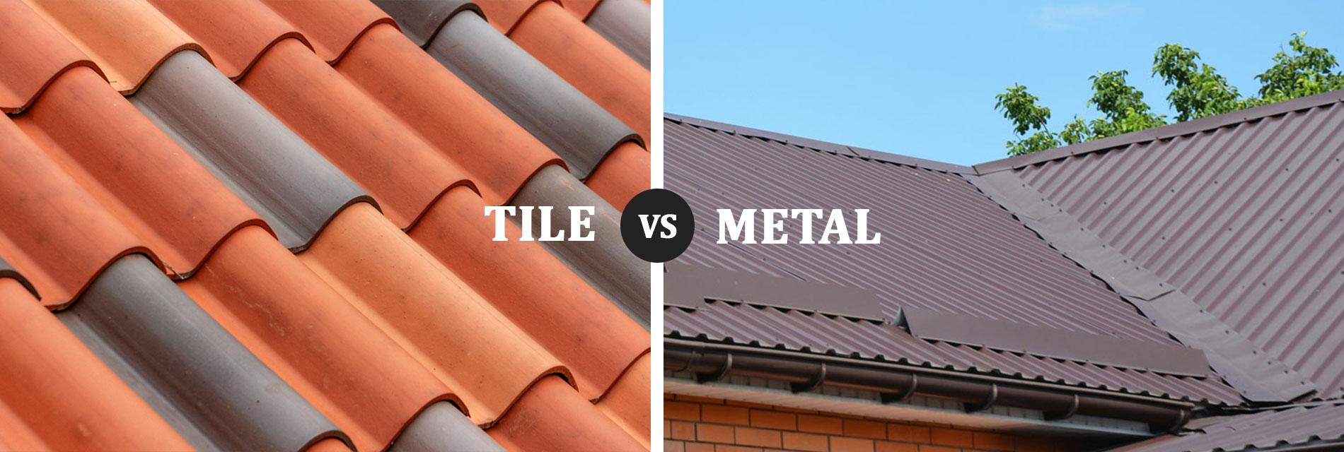 Tile vs Metal Roofing in San Antonio