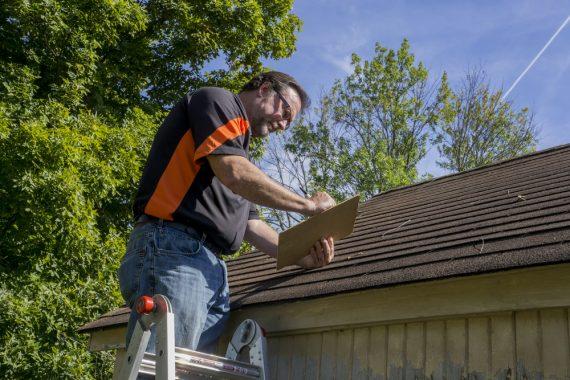 Hidden roof damage inspection San Antonio